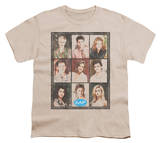 Youth: Melrose Place - Season 2 Cast Squared T-shirts