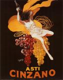 Leonetto Cappiello (Asti Cinzano) Art Poster Print Posters