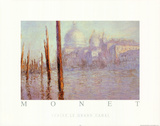 Claude Monet Venise Le Grand Canal Art Print Poster Posters