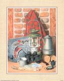 Camping & Hunting still life Art Print Poster Posters
