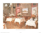 Vincent Van Gogh Le Restaurant Art Print POSTER Fotografia