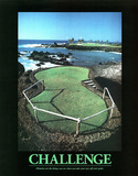 Challenge (Golf) Art Poster Print Prints