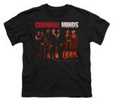 Youth: Criminal Minds - The Crew T-shirts