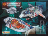 Firefly Serenity Shuttle Cutaway Views TV Poster Print Posters