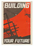 Star Trek Movie Building Your Future Poster Print Foto