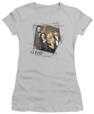 Juniors: Gossip Girl - Line Border T-shirts