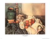 Paul Cezanne (Dish of Peaches) Art Print Poster Prints