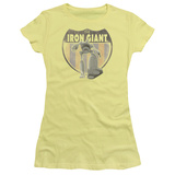 Juniors: The Iron Giant - Iron Giant Patch T-shirts