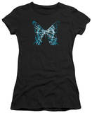 Juniors: Fringe - Butterfly Glyph T-shirts