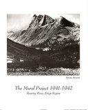 Ansel Adams (Boaring River) Photo Print Poster Poster