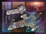 Firefly Serenity Forward Cutaway View TV Poster Print Print