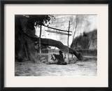 Navajo Weaver, C1905 Framed Photographic Print by Edward S. Curtis