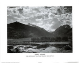 Ansel Adams Lake at Rocky Mountain Park POSTER Print