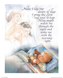Now I Lay Me Down To Sleep (Prayer) Art Print Poster Posters