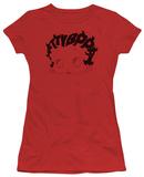 Juniors: Betty Boop - Word Hair T-shirts