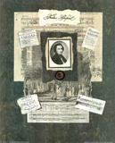 Linda Jade Charles Frederic Chopin Art Print POSTER Posters
