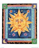 Alison M Jerry (Celestial Sun) Art Print Poster Prints