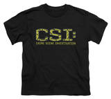 Youth: CSI - Collage Logo T-Shirt