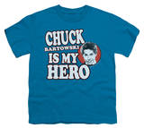 Youth: Chuck - Chuck is my Hero Shirt