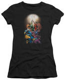 Juniors: DC Comics New 52 - GL New Guardians 1 T-shirts