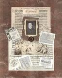 Music Charles Franz Schubert Composer Art Print POSTER Print
