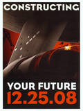 Star Trek Movie Constructing Your Future Poster Print Prints