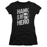 Juniors: Californication - Hank is my Hero T-Shirt