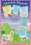 Laminated Nursery Rhymes Educational Chart Poster Print Prints