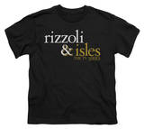 Youth: Rizzoli & Isles - Logo Shirt