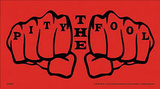 A-Team Pity the Fool Vinyl Sticker Pegatinas