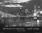 Brooklyn Bridge New York (Skyline) Photo Print Poster Print