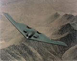 B-2 Stealth Bomber (Over Desert) Photo Print Poster Print