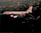 KC-135 Tanker (Fueling Mid-Air) Art Poster Print Print