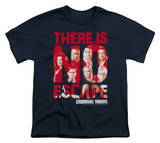 Youth: Criminal Minds - There is no Escape T-Shirt