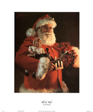 Tom Browning Old St Nick Art Print Poster Posters