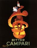 Leonetto Cappiello Bitter Campari Vintage Ad Art Print Poster Poster