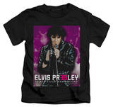 Youth: Elvis Presley - Elvis 35 Leather T-Shirt