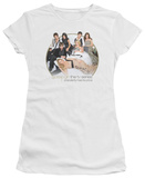 Juniors: Gossip Girl - Bed T-Shirt