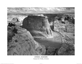 Ansel Adams Canyon De Chelly Landscape Photo Art Poster Print Fotografia
