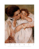 Mary Cassatt Mother and Child La Mere et L'Enfant Art Print Poster Prints