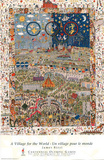 James Rizzi A Village for the World Atlanta 1996 Olympic Official Sports Poster Print Prints