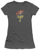 Juniors: The Flash - Desaturated Flash T-shirts