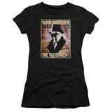 Juniors: Watchmen - Who Watches T-Shirt