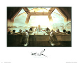 Salvador Dali The Last Supper Art Print Poster Posters