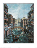 Jose (Venice Canal  2) Art Print Poster Photo