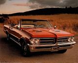 Pontiac (64 GTO Convertible) Car Poster Prints