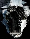 M F Winter USS Enterprise CVN 65 Aircraft Carrier Print Poster Photo