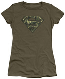Juniors: Superman - Super Camo T-Shirt