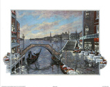 Jose (Evening in Venice) Art Print Poster Affiches