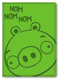 Angry Birds Leatherette Pig Journal Green Journal